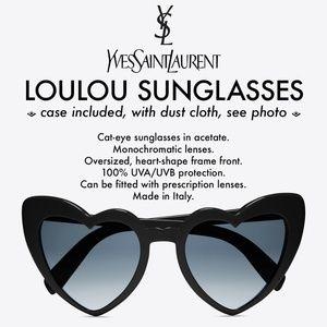 YVES SAINT LAURENT SunglassesLOULOU Cat-eye w/case